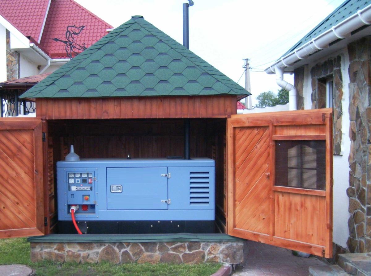фото дизельной электростанции